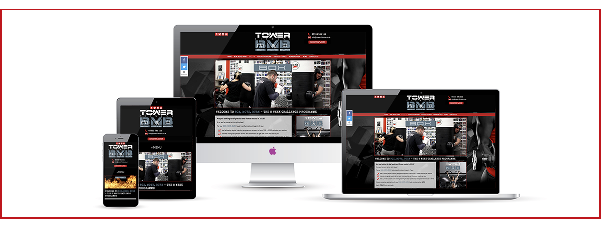 Welcome to the Tower Fitness Box, Move, Burn website!