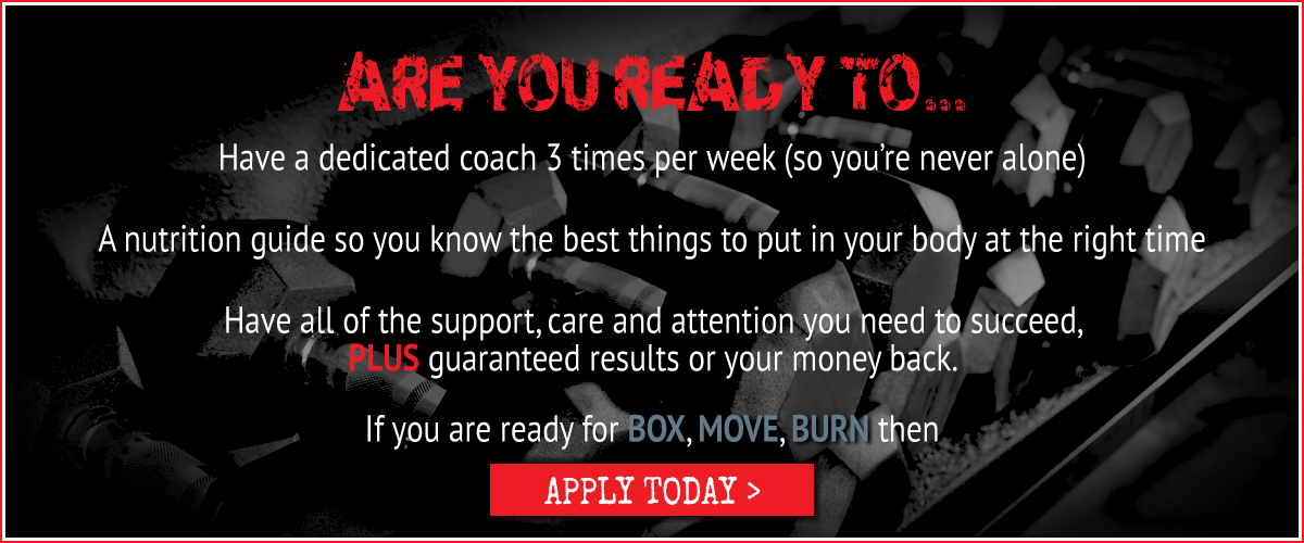 Are you ready to BOX MOVE BURN in Norwich slider graphic